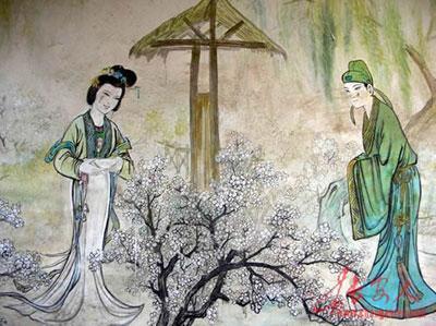 """爱情传说三:崔护的""""桃花缘"""