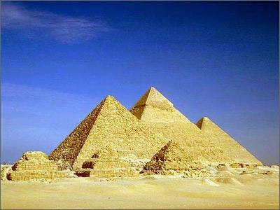 世界最著名的埃及胡夫金字塔
