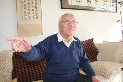 张德成近照,摄于2009年2月18日