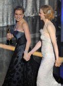 图:第81届奥斯卡颁奖礼 凯特与基德曼同台
