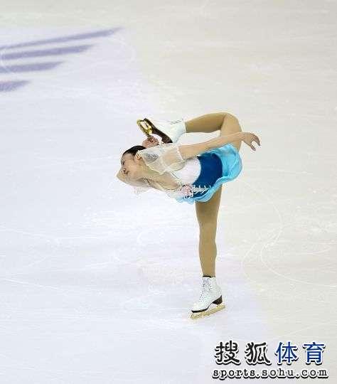 图文:大冬会花滑女单自由滑 演绎经典动作