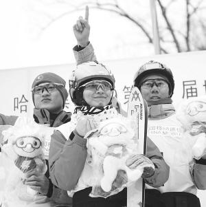 中国包揽自由式滑雪空中技巧所有金牌