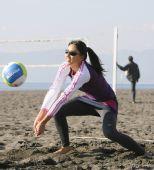 图文:日本沙排美女浅尾最新写真 排球才是主项