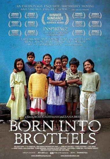 纪录片《生于妓院》海报
