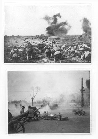 人民解放军攻击突破敌人天津城防。