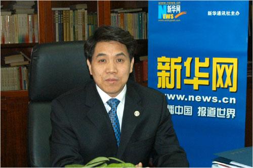 中国气象局局长郑国光 新华网 倪宏 摄