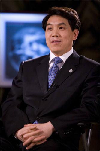 中国气象局局长郑国光 中国气象报 吴家翔 摄