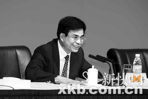■张桂芳表示解决法院人手不够已经迫在眉睫。新快报记者 李小萌/摄(资料图片)