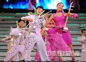 图文:哈尔滨大冬会闭幕式 靓丽男女青春无限
