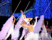 图文:哈尔滨大冬会闭幕式 鹅毛寄托情思