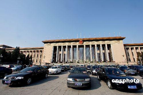 第十一届全国人民代表大会第二次会议将于3月5日开幕,全国政协第十一届全国委员会第二次会议将于3月3日开幕。 中新社发 任晨鸣摄