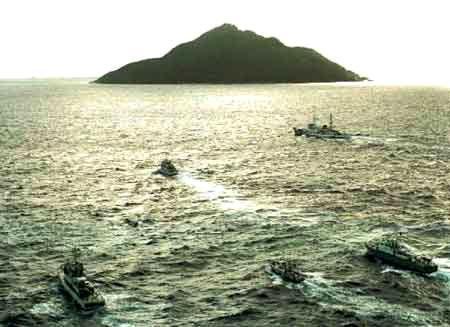 远观钓鱼岛