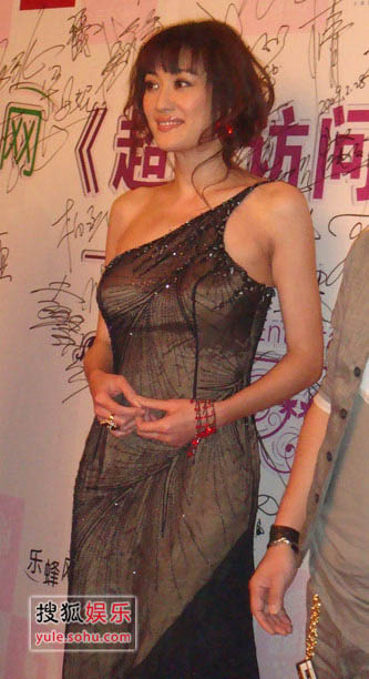 性感女神孟广美助阵v黑色黑色盛典晚礼服显高图片爱玛性感胸部图片