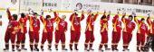 图文:中国体育健儿冰雪记忆 冰球姑娘点燃激情