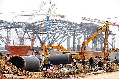 广州新客站开建