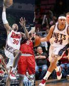 NBA周最佳:哈里斯惊世一投 黄蜂队二当家入选
