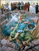 组图:街头3D涂鸦欣赏