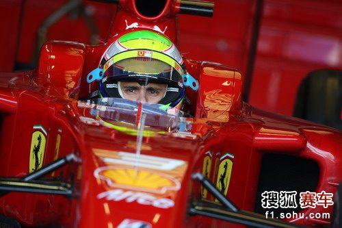 F1赫雷斯试车第三日 马萨等待出发