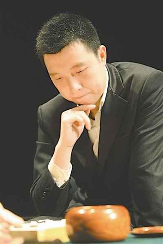 """""""龙""""字辈的古力,已逐渐成长为中国围棋新一代领军人物。辛文 摄"""