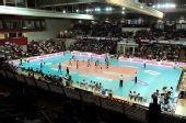 图文:诺瓦拉女排3-0贝尔加莫 比赛全景
