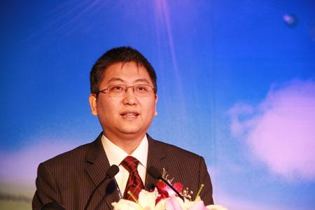联想集团副总裁兼中国区总经理夏立致辞
