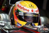 图文:F1赫雷斯试车第四日 汉密尔顿等待出发