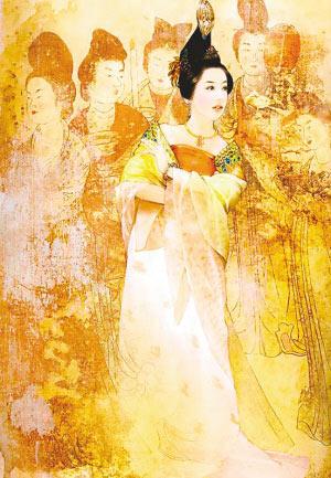 古籍中描绘的杨贵妃