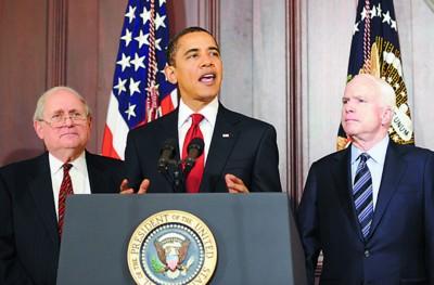 奥巴马4日在白宫表示要减少浪费