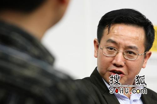 专家储朝晖。搜狐-王玉玺/摄