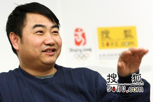 专家李昌平。本次访谈由大河网、搜狐网联合举办。搜狐-王玉玺/摄