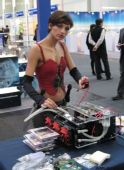 CeBIT09:ShowGirl试装机/790G+HD4870