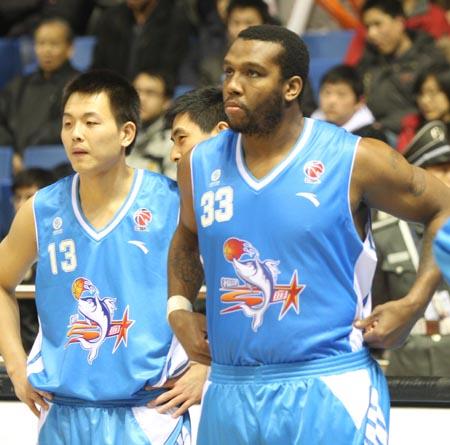 北京主场对阵福建 龚松林与外援