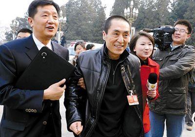 张艺谋透露,将沿用北京奥运团队来打造国庆焰火晚会。