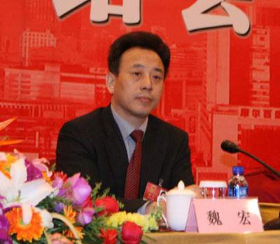 四川省常务副省长魏宏。