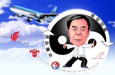 """国家民航总局局长李家祥----和国际油价打""""太极"""""""