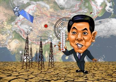 国家气象局局长郑国光:北方大旱,我头上也流大汗