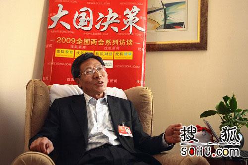 十一届全国政协委员、东北师范大学党委书记、博士生导师盛连喜做客搜狐
