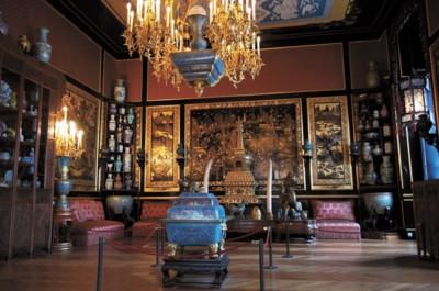 法国枫丹白露宫中国馆内所藏文物大多是从圆明园掠走的