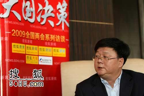 中国核电工程有限公司副总经理刘巍。搜狐-王玉玺/摄