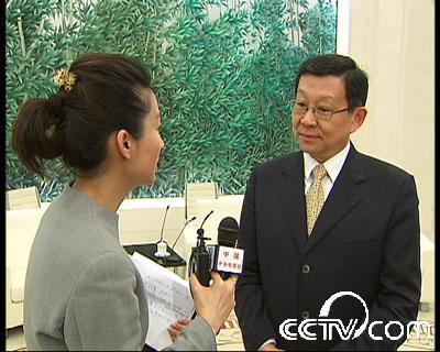 小丫专访商务部长陈德铭