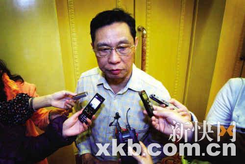昨日,钟南山接受了众多记者的采访。新快报记者 夏世焱/摄