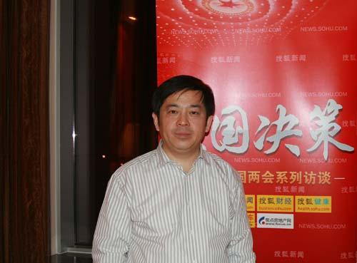 全国人大代表,三一重工集团总裁向文波
