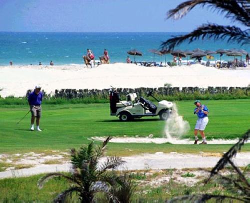挥袖潇洒 突尼斯八大高尔夫球场图片