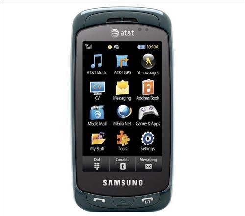 剑指N97 三星侧滑盖触屏手机A877亮相