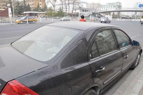 2009年3月15日11时于北京市海淀区中关村南大街拍摄
