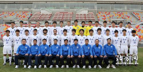 图文:[中超]2009赛季天津队名单 全家福