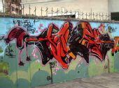 """组图:街头艺术""""涂鸦"""""""