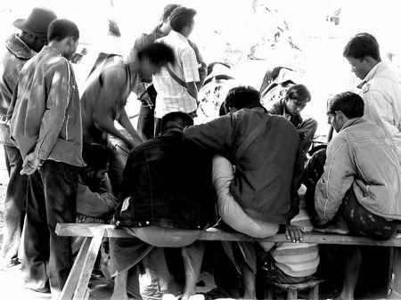 缅甸境内的露天赌场