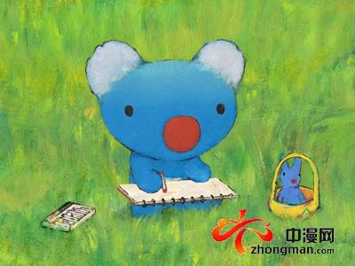 名绘本童话蓝色贝贝熊 新版动画即将推出图片