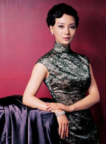 陈数秀旗袍